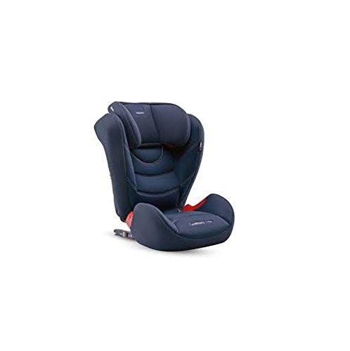 Inglesina Galileo I-Fix Seggiolino Auto, Gruppo 2/3 (15-36kg), per Bambini dai 3 a 12 Anni circa, Navy