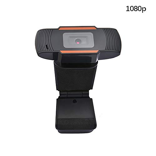 HaavPoois Webcam met Microfoon, 1080P USB HD Webcamera met Smart Focus en Opnamen bij Weinig Licht voor Videoconferenties, Webcast