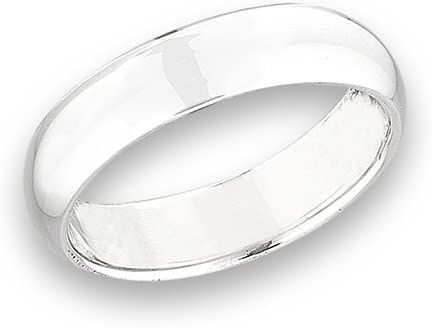 Solid Sterling Silver 5mm Wedding Band New product type Ring Sizes Ranking TOP1 4 5 9 6 3 8 7