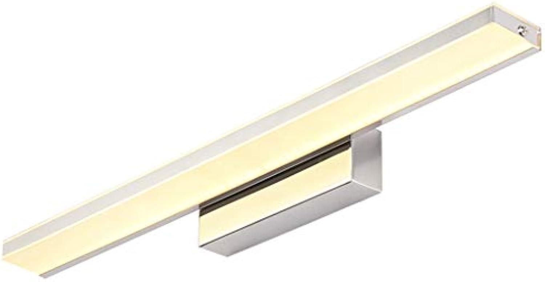 Led Spiegel Scheinwerfer Wasserdicht Anti-Fog Badezimmerspiegel Wandleuchte Spiegel Kabinett Licht Lostgaming (Farbe   Warmes licht, gre   52cm)