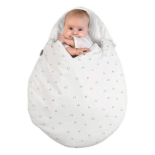 LouisaYork Baby Schlafsack Baumwolle Warm Baby Schlafsack Jungen Mädchen Schlafsack für 0-12 Monate