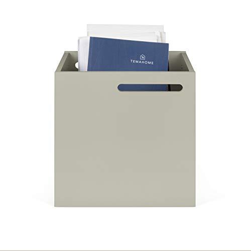 TemaHome, Berlin Box, 34x33x34 cm, grau lackiert