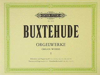 AUSGEWAEHLTE ORGELWERKE 1 - arrangiert für Orgel [Noten / Sheetmusic] Komponist: BUXTEHUDE DIETRICH