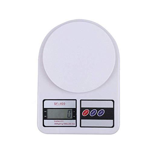 GPWDSN balanza Digital accuweight, balanza Digital de Palma Mini balanza de Cocina electrónica para el hogar balanza para Hornear pequeña precisión Gramos de Medicina balanzas electrónicas par