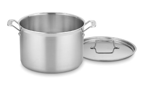Cuisinart MultiClad Pro Stainless 12-Quart Stockpot with Cover