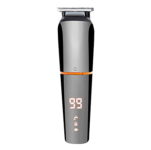 XJZKA Tagliacapelli, regolabarba per Uomo, tagliacapelli Cordless Kit toelettatura per Tagliare i Capelli, USB Ricaricabile 6 in 1