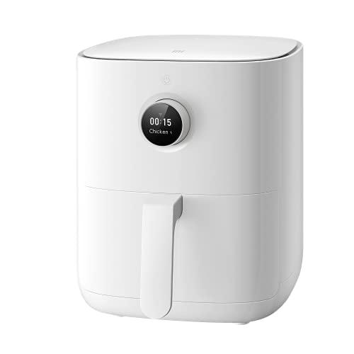 Xiaomi Mi Smart Air Fryer - Freidora de aire inteligente, control mediante aplicación, pantalla OLED, temperatura de cocción entre 40 y 200 °C, doble espacio de cocción, versión italiana