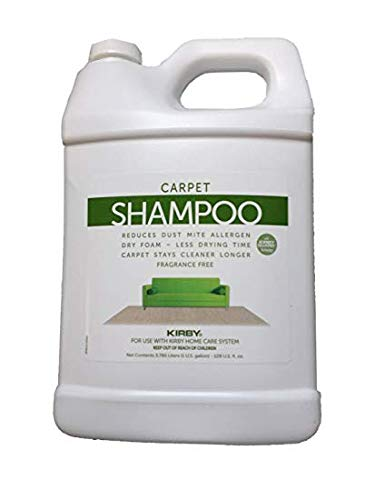 Kirby One Gallon (128 oz) Allergen Shampoo (Unscented)