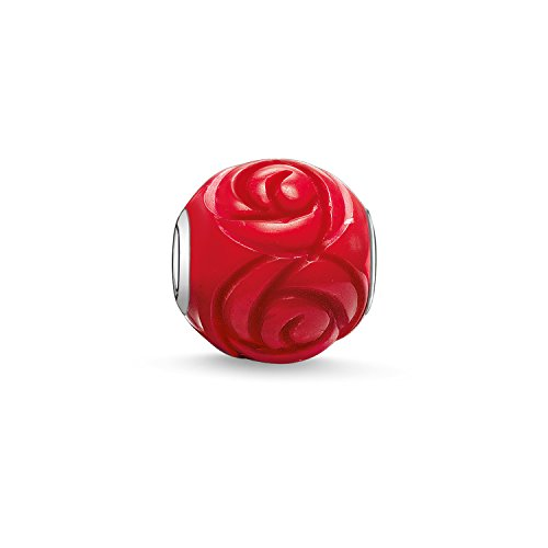 Thomas Sabo-Perlina da donna in Argento Sterling 925 e corallo