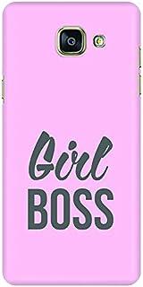Stylizedd Samsung Galaxy A5 (2016) Slim Snap Case Cover Matte Finish - Girl Boss (Pink)