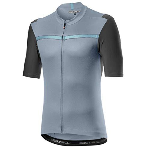 castelli Herren Unlimited Shirt, Vortex Gray, XXL