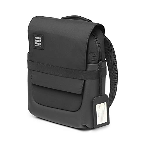 Moleskine Zaino Porta PC ID Borsa PC e Tablet, Zainetto con Materiale Impermeabile Resistente all'Acqua, Nero