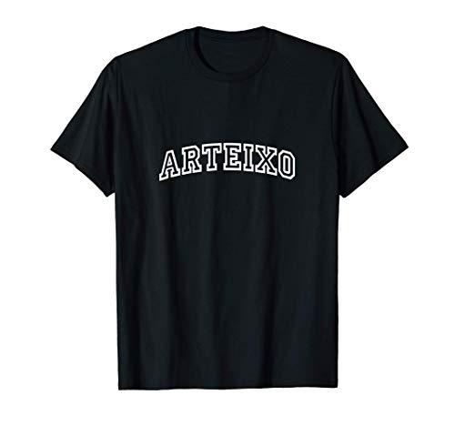 Arteixo Vintage Retro Sports Arch Camiseta
