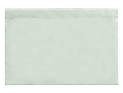 Carte Dozio Buste trasparenti portadocumenti autoadesive F.to interno mm 225x160 1.000 pz conf.