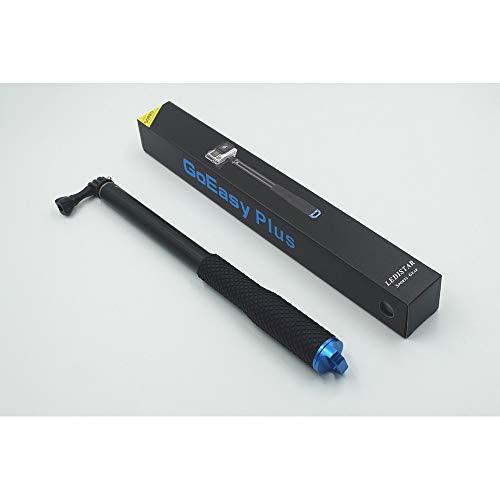 Selfie Stick Tripod Bluetooth Remote Adapter Retractable Non-Slip Stick Suit für Gopro Kompaktkameras Spiegelreflexkamera und iPhone, Huawei, Samsung und andere Smartphones,Blue