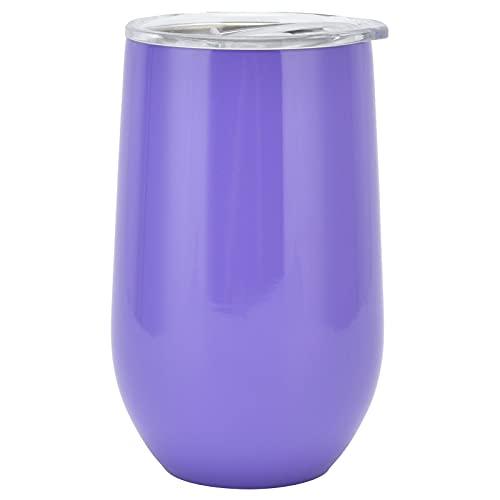 Taza aislada al vacío, con una cubierta a prueba de fugas Taza de bebida de 16 oz de capacidad para el hogar para el trabajador para la oficina