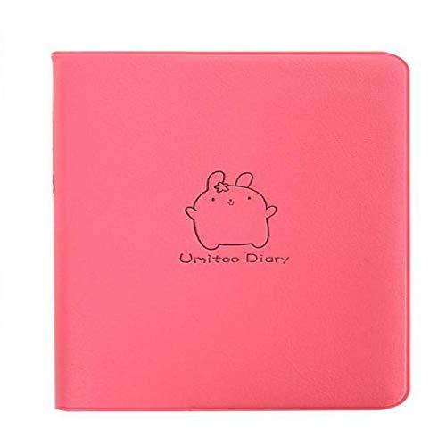 Cuaderno Lindo Kawaii Dibujos Animados Conejo Gordo Diario Cuaderno 2020 2021 planificador Bloc de Notas para niños papelería