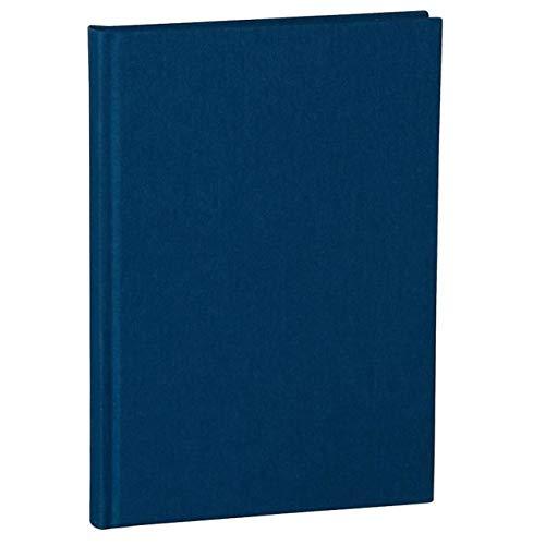 Libro A5 Classic blu marina +++ 80 fogli di Carta in stile a mano (a righe) +++ TACCUINO SCHIZZI e APPUNTI alla moda +++ qualità originale Semikolon