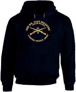2XLARGE - Army - 3rd Bn 31st Infantry Regt - Polar Bears - Infantry Br Hoodie - Navy