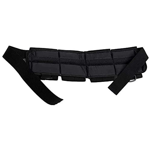 junmo shop Cinturón de nailon para buceo de alta resistencia con bolsillos de 5 libras de plomo y correa de esnórquel con hebilla de liberación rápida