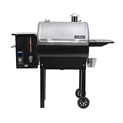 Camp Chef PG24S Smoke Pro Pellet Grill BBQ Stainless lid