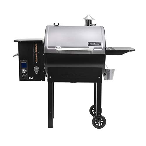 Camp Chef SmokePro DLX Pellet Grill w/New PID Gen 2 Digital Controller - Stainless Steel