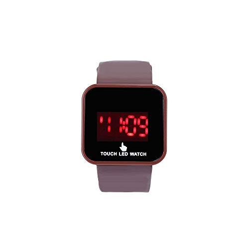 Realde Mujer Smartwatch Pulsera Actividad Rastreador De Fitness Bluetooth Pantalla Táctil A Color Relojes Analógicos De Cuarzo Simplicidad Creativa Relojes De Moda Casual para Mujer
