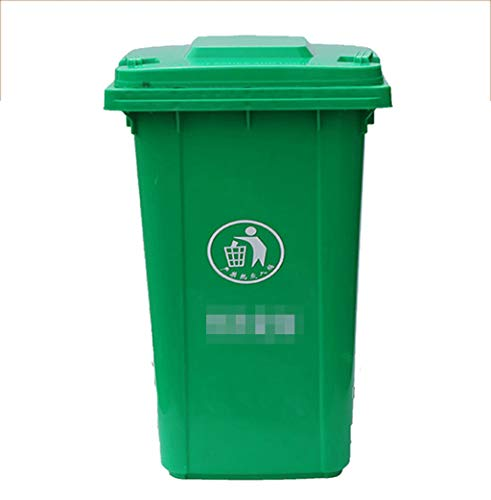 Happy Time Environmental vuilnisbak Buiten vuilnisbak Sanitatie vuilnisbak Buiten vuilnisbak Overdekte vuilnisbak, 30L, 50L