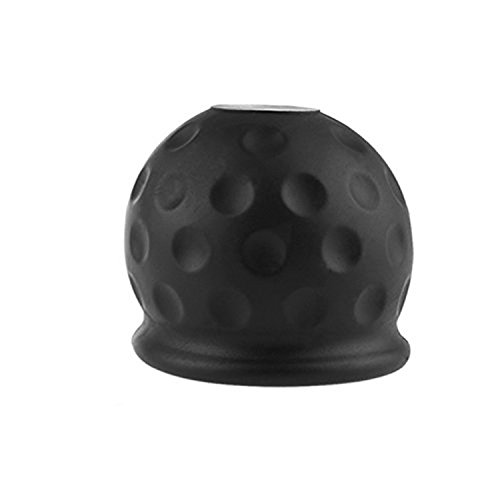 Newseego El Towball de Goma Negro del Remolque 50m m Protege la Caja de la Bola de la Barra de Remolque Cubierta del tirón del Coche
