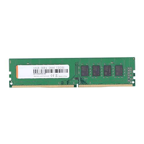 Zunate Módulo de Memoria RAM, DDR4 16GB 2666MHz 288pin RAM Memory Sticks para computadora de Escritorio, WALRAM Memory RAM Full Compatible para Intel/para AMD