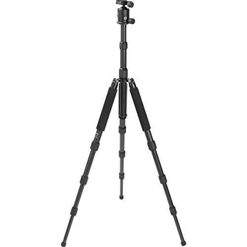 Feisol Traveler Tripod 4 Section Carbon Fiber Tripod with CB-40D Ball...