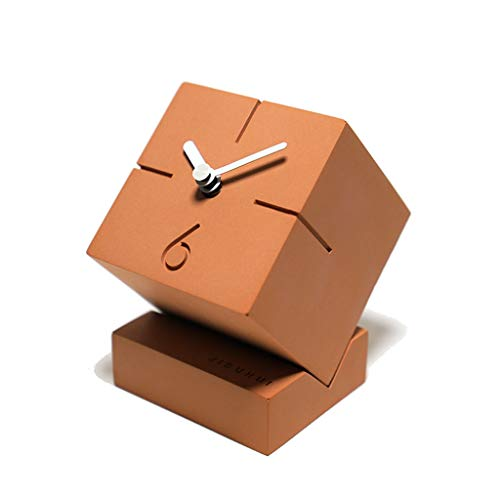 wyz Tot op heden Taichung Cement Klok Scandinavische eenvoudige creatieve student bureaublad nachtkastje stille bureau klok familie klok