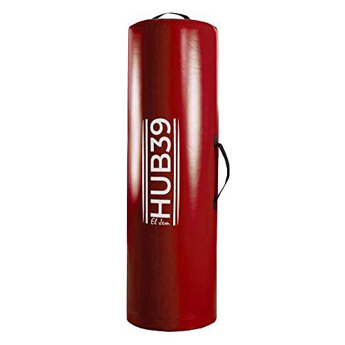 Hub39 Sacco da placcaggio Altezza 140 e 120 cm con Diametro 45 e 35 cm (140 X 45, Rosso)
