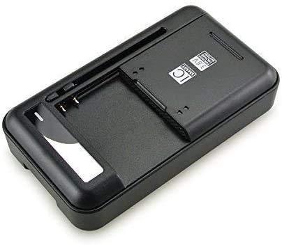 BQuel マルチバッテリー充電器 携帯電話・デジカメ等バッテリー 電池パック充電器 ユニバーサル充電器 万能充電器