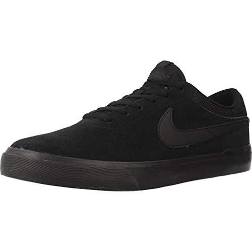 Nike SB Koston Hypervulc, Scarpe da Skateboard Uomo, Nero (Black/Black/Anthracite 008), 47.5 EU