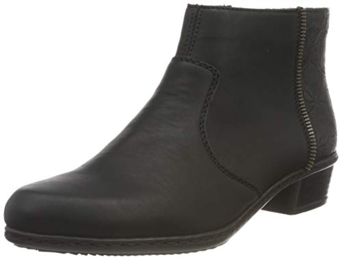 Rieker Damen Y0768 Stiefelette, schwarz, 39 EU
