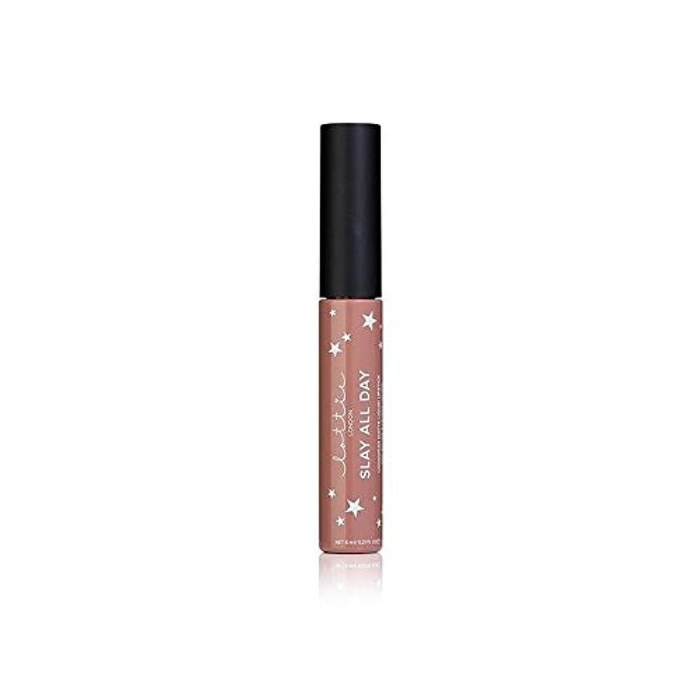 逸脱四面体アジア人ロンドンマット液状口紅 - それを x4 - Lottie London Matte Liquid Lipstick - Werk It (Pack of 4) [並行輸入品]