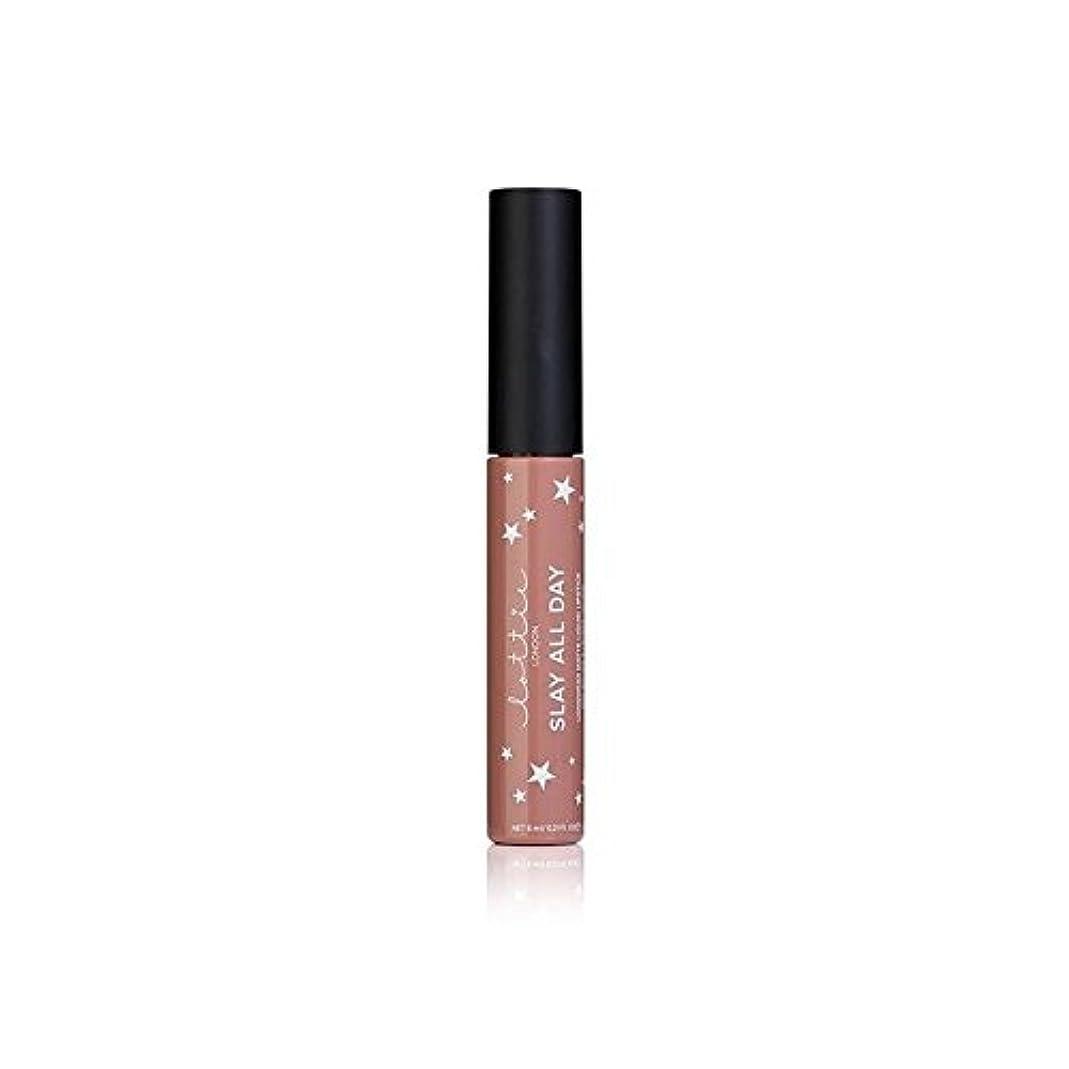 動的劣る続けるLottie London Matte Liquid Lipstick - Werk It - ロンドンマット液状口紅 - それを [並行輸入品]