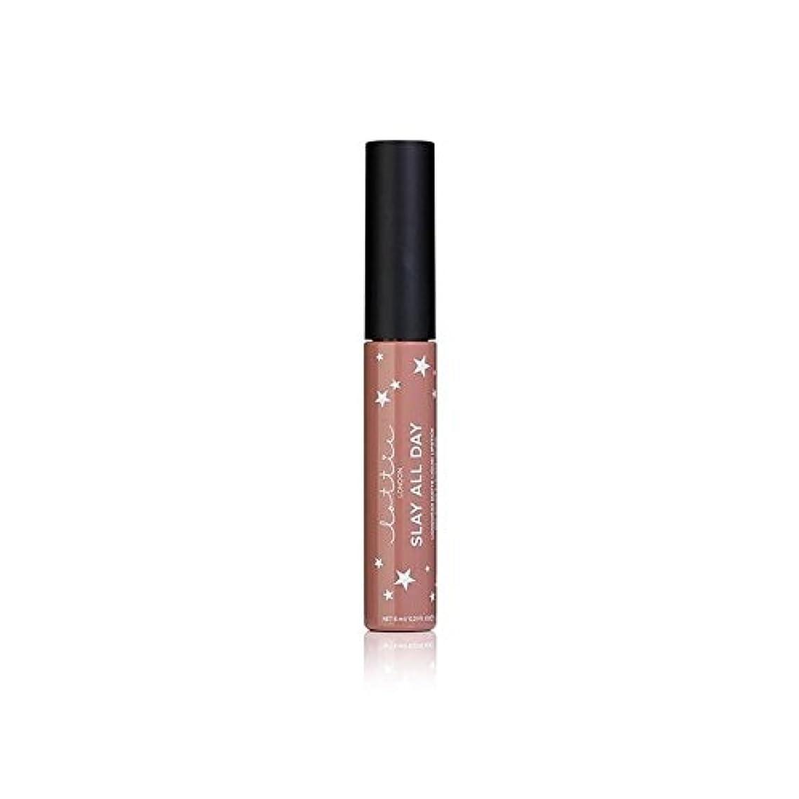 スツールカストディアン差別するLottie London Matte Liquid Lipstick - Werk It (Pack of 6) - ロンドンマット液状口紅 - それを x6 [並行輸入品]