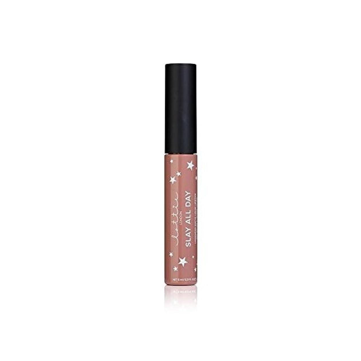 亡命常識おっとロンドンマット液状口紅 - それを x2 - Lottie London Matte Liquid Lipstick - Werk It (Pack of 2) [並行輸入品]