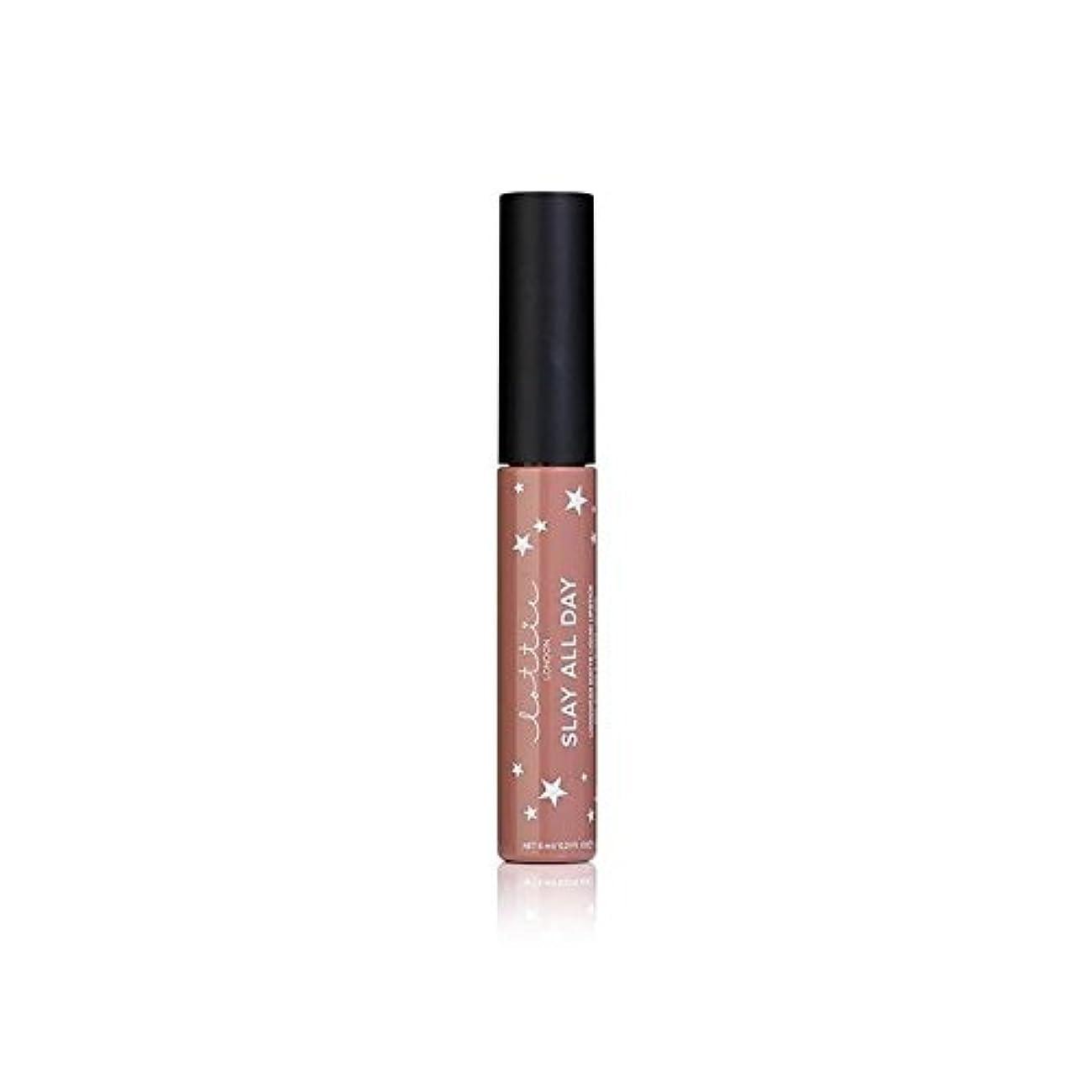 落胆する軍艦テンポLottie London Matte Liquid Lipstick - Werk It (Pack of 6) - ロンドンマット液状口紅 - それを x6 [並行輸入品]