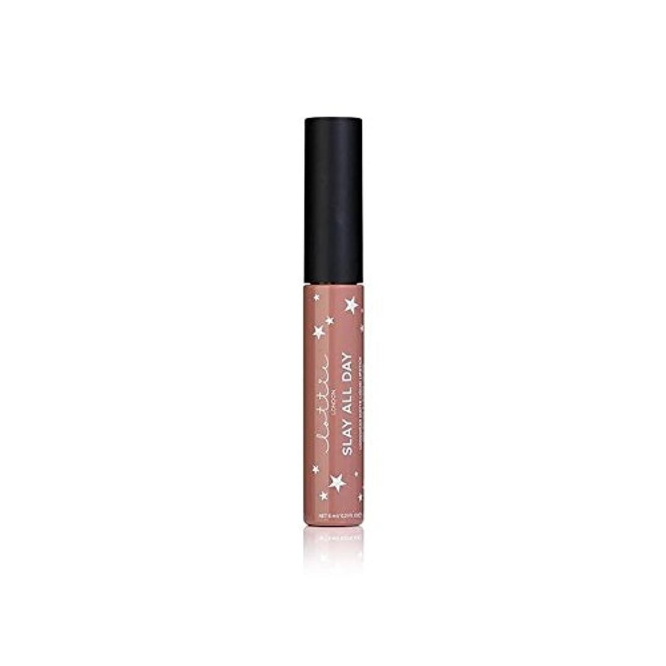 湿度こんにちは方向ロンドンマット液状口紅 - それを x2 - Lottie London Matte Liquid Lipstick - Werk It (Pack of 2) [並行輸入品]