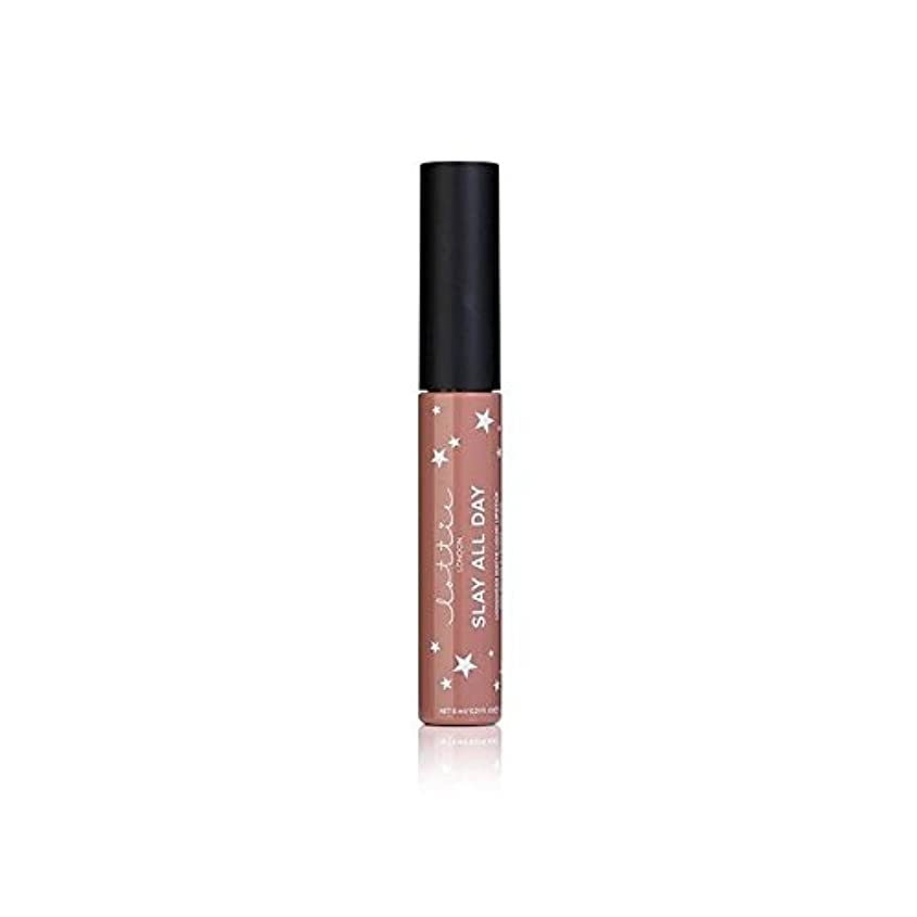 西部可決無駄ロンドンマット液状口紅 - それを x4 - Lottie London Matte Liquid Lipstick - Werk It (Pack of 4) [並行輸入品]