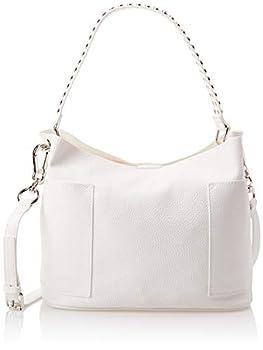 Steve Madden womens Bucket Hobo Bag White 17 L x 10 H 5.5 W US