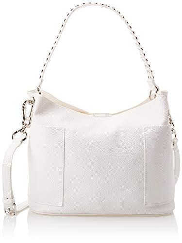 Steve Madden womens Bucket Hobo Bag, White, 17 L x 10 H 5.5 W US