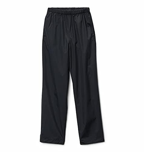 Columbia Trail Adventure Pantalones para Lluvia, Niños, Negro (Black), L