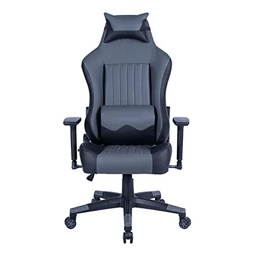 Silla ergonómica para juegos, silla de oficina, respaldo alto, silla reclinable, silla de computadora, silla de trabajo giratoria ajustable para adultos