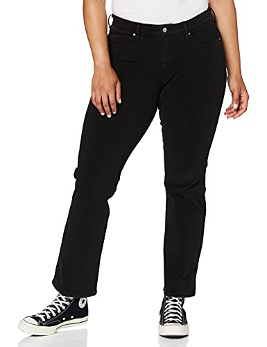 Levi's Plus Size 315 Pl Shaping Boot Vaqueros, New Ultra Black Night, 16 M para Mujer