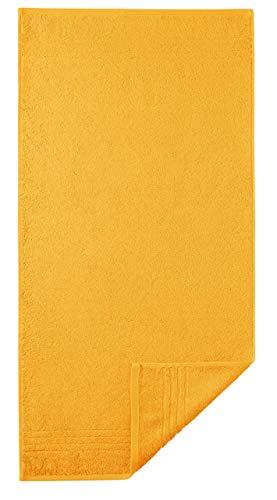 Egeria 28001 Madison Handtuch, Baumwolle, sunny yellow, Größe 50 x 100 cm