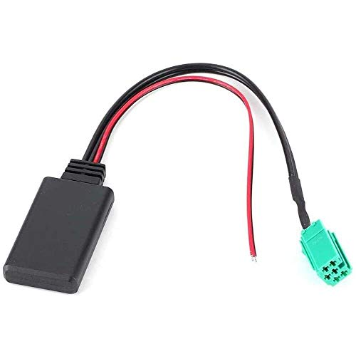 Yuyanshop 68209; Pin estéreo Bluetooth módulo auto adaptador de cable de entrada del coche compatible con R-e-n-a-u-l-t Clio/Espace/Laguna